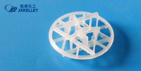 Plastic snowflake ri